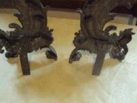 garniture de devant de cheminée en bronze 3