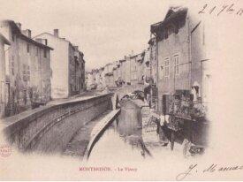 (42) cpa - montbrison - le vizezy -1905
