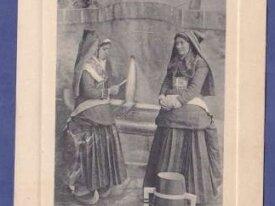 (65) cpa - types des pyrenees - lettre du fiance