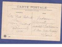 (65) cpa - types des pyrenees - lettre du fiance 2