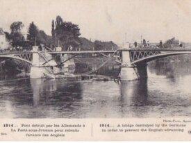 (77) FRANCE 1914 -CPA -la ferte sous jouarre