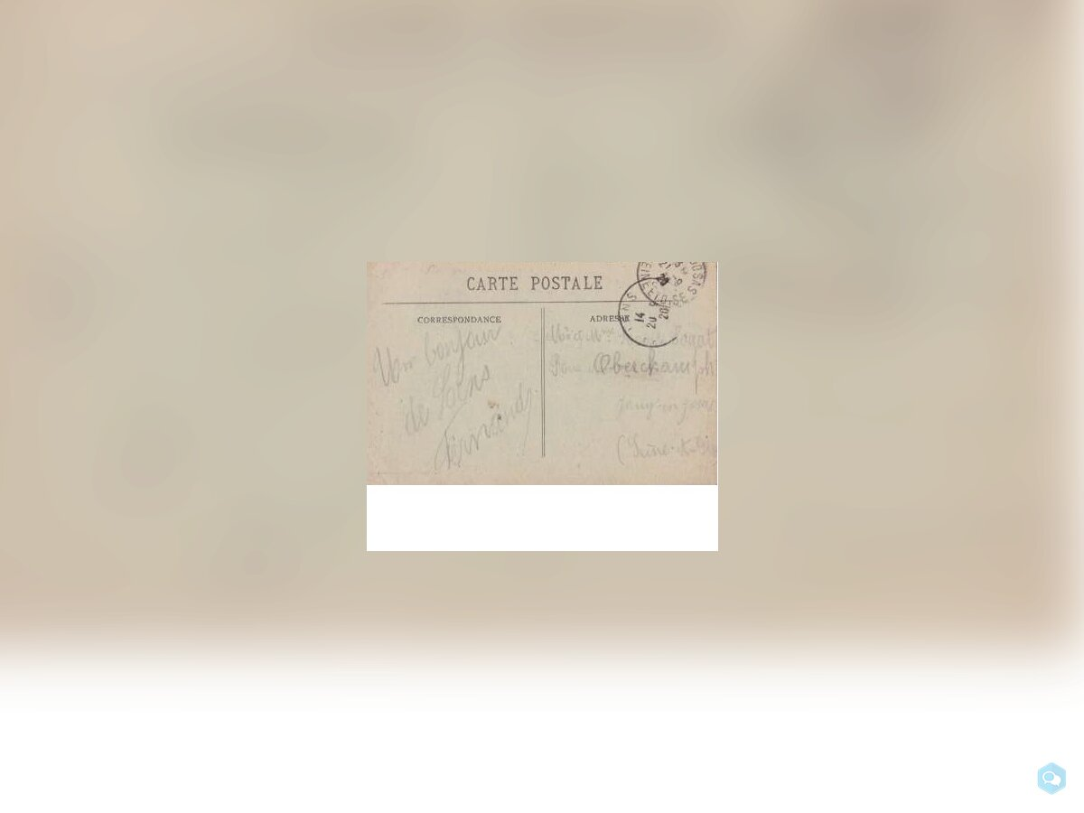 (62)FRANCE CPA-LENS - les restes de l'eglise -1920 2