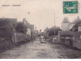 (71) cpa -chalot nanton - '71) circulée en 1912