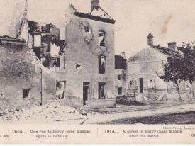 (77) FRANCE CPA 1914 BARCY pres de MEAUX