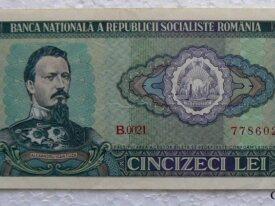 Roumanie, 50 Lei, 1966