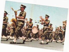 Israel cpm - zahal orchestra parading