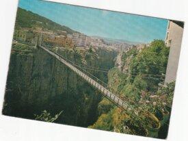 Algerie cpsm Constantine le pont de l'ascenseur