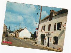 (56) cpm ambon le bourg et l'église année 1978