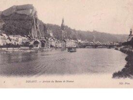 dinant -cpa- arrivée du bateau de Namur
