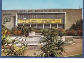 Charleroi -cpsm- palais des expositions