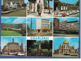 Charleroi-cpsm -multi-vues