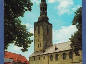 Allemagne-  Soest --petrikirche - non circulee