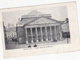 Bruxelles -théâtre royal de la monnaie