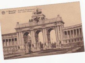 Bruxelles  arcades du centenaire