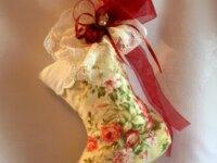 coussin décoration à suspendre Petite chaussure vi 1