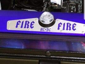 Plaque fire