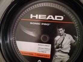 head sonic pro 1,25 nera