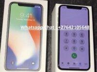 Apple iPhone X 64GB - €420 , iPhone X 256GB - €480 5