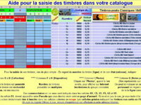 Catalogue des timbres de France DVD informatique 14