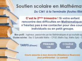 Cours de mathématiques - Du CM1 à la Terminale !