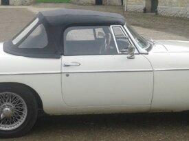 MG B cabriolet 1964