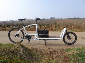 Vend vélo cargo (module solaire en option)