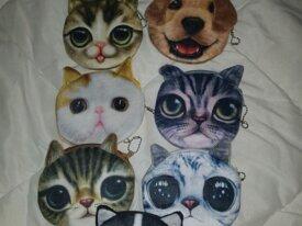 Porte Monnaie chiens et chats