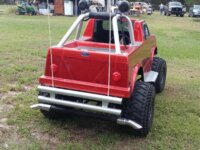 Ebay Posting: custom Shriner parade go cart red fo 2