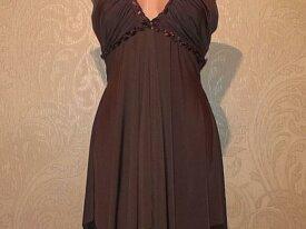 б/у Коктейльное платье с открытой спиной