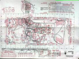 Schema elettrico su carta