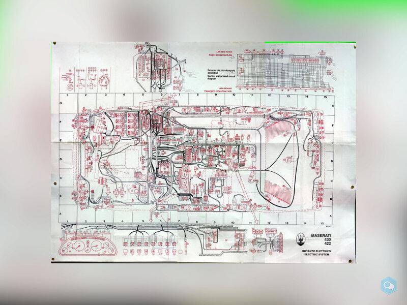 Schema elettrico su carta 1