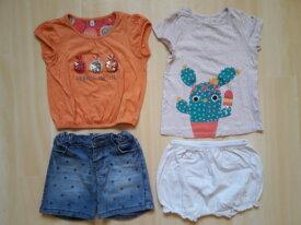 Vêtements fille 24 mois, été.