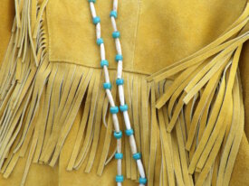 Beaded Bear Claw Necklace