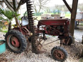 Lot de deux Farmall Cub