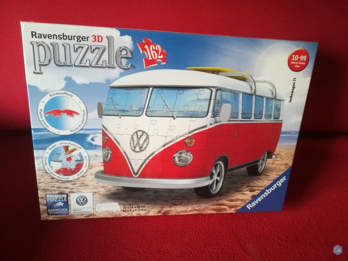 Puzzle 3D combi ravensburger 1