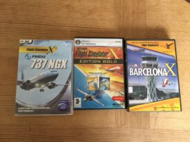 lot fsx gold edition+jeux