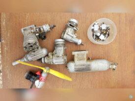 Lot de vieux moteurs