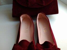 Комплект сумка балетки