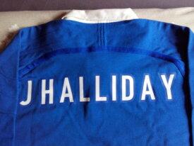 Dédicace sur maillot Johnny Hallyday