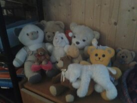 Lot de peluches