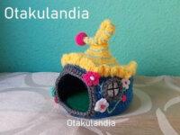 Casita de Gnomos para Agaporni en Crochet 1