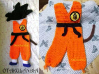 Disfraz Goku Bebé en Crochet  1