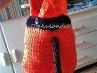 Disfraz Goku Bebé en Crochet  5