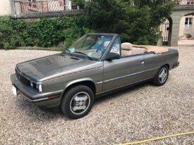 Renault Alliance cabriolet 1986