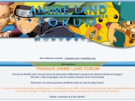 Anime Land Forum recrute !