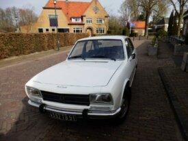 à vendre Peugeot 504GL en tbé, 62000km d'origine