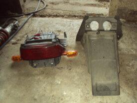garde boue et feu arr de honda cb 450 s