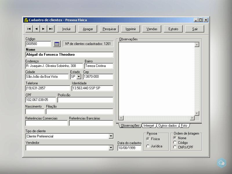 SIC - Sistema Integrado Comercial 2