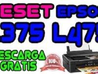 Reset Epson L375 - 475 1