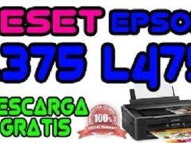 Reset Epson L375 - 475